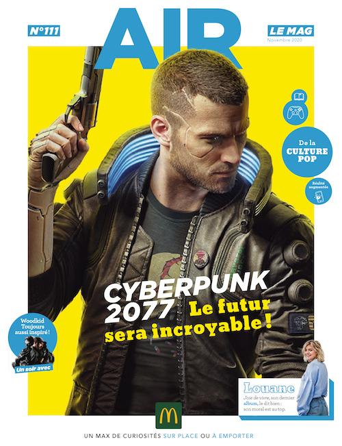 Couverture du magazine AIR LeMag en web AR