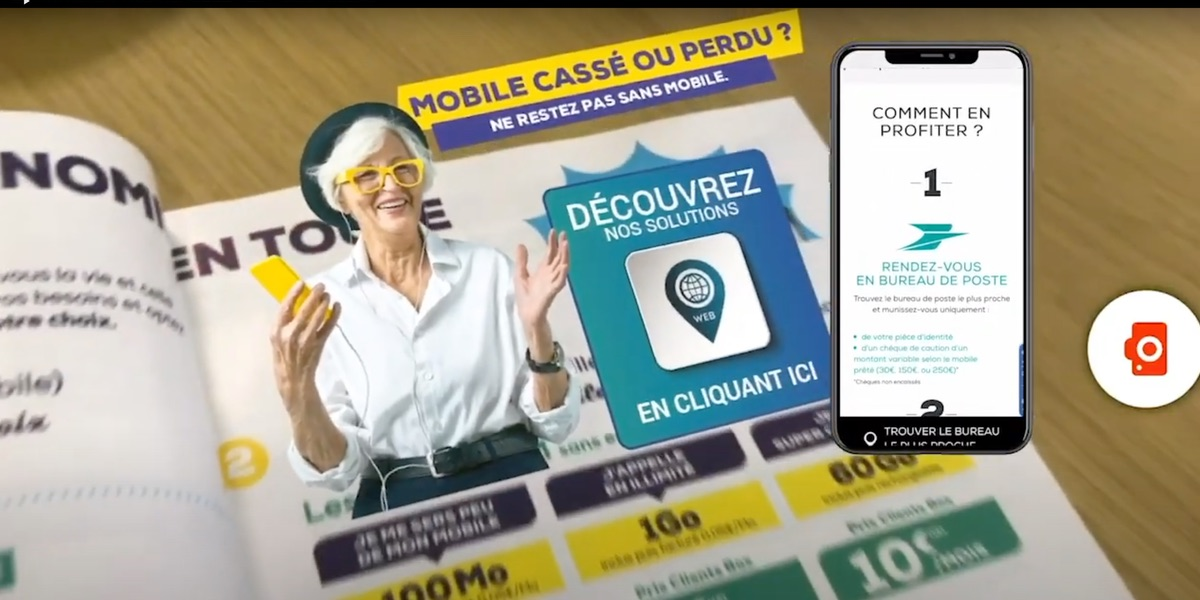La Poste Mobile augmented catalog