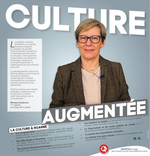 Cover of the magazine of the agglomeration of Roanne in web AR
