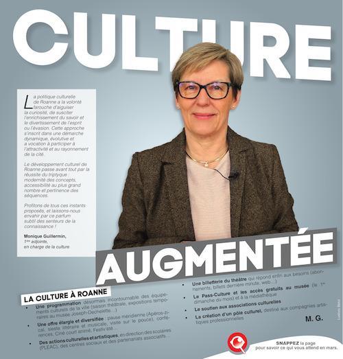 Couverture du magazine de l'agglomération de Roanne en web AR