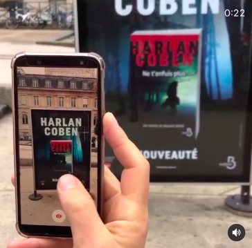 Découvrez la campagne de RA de Harlan Coben