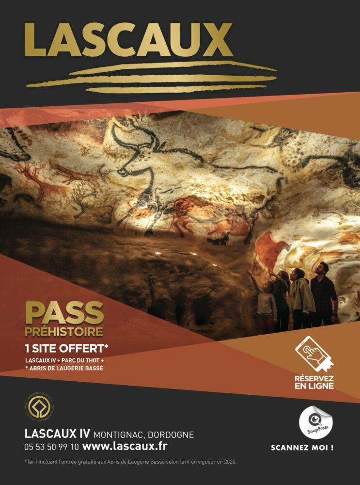 Flyer Grottes Lascaux RA ARGOplay et ARGOwebAR
