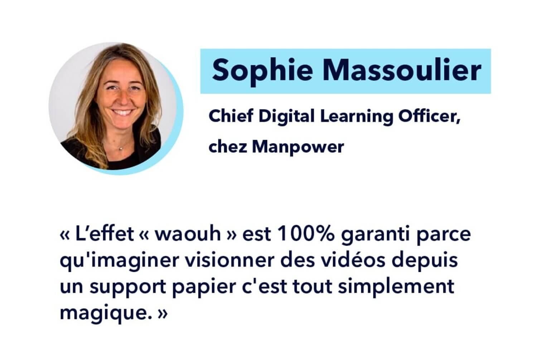 Témoignage de Sophie Massoulier sur l'apport de la réalité augmentée pour la transformation digitale de l'entreprise
