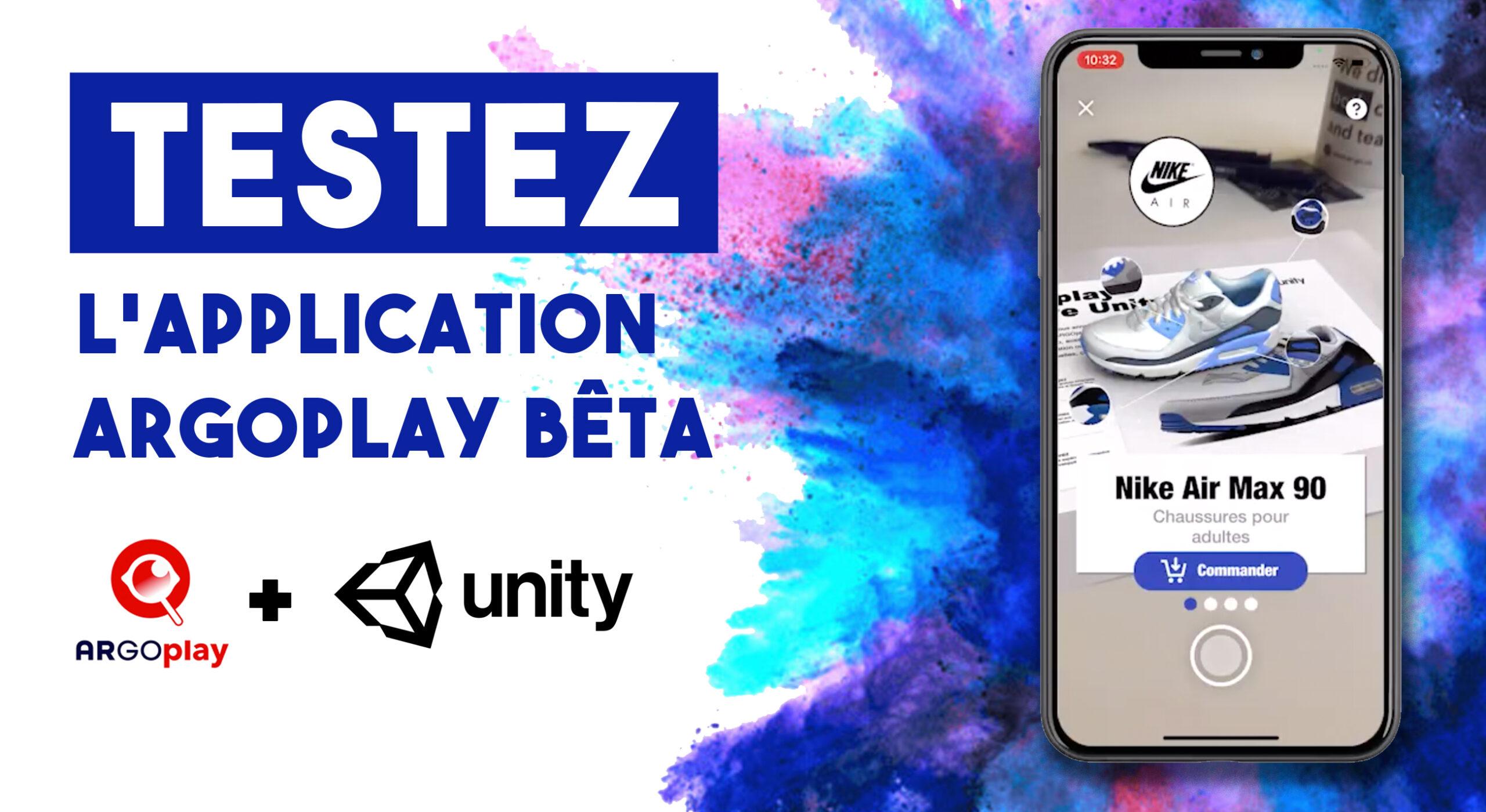 Testez ARGOplay / Unity (Bêta)